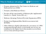 what is medicare advantage