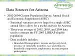 data sources for arizona7