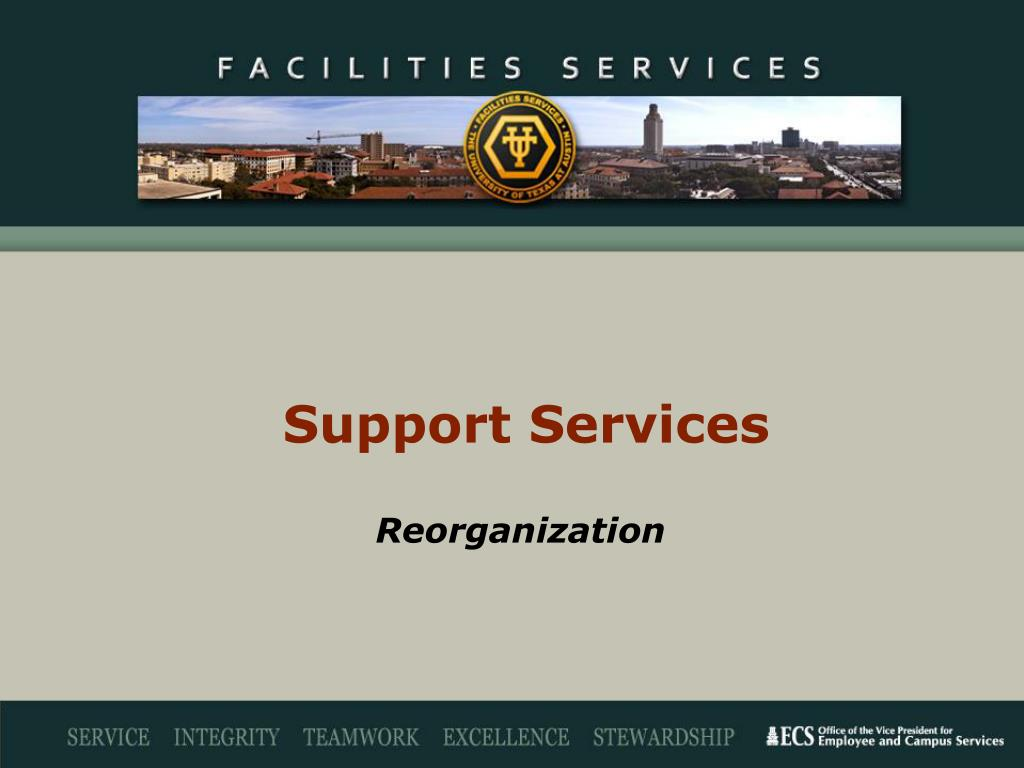 support services l.