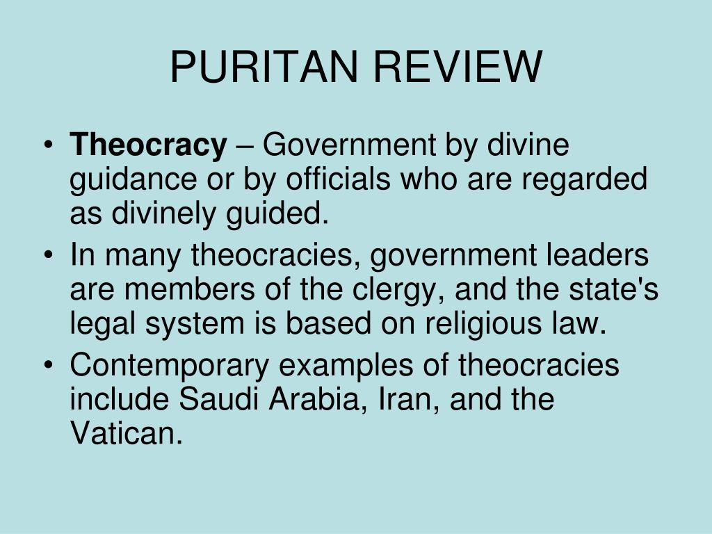 puritan review l.