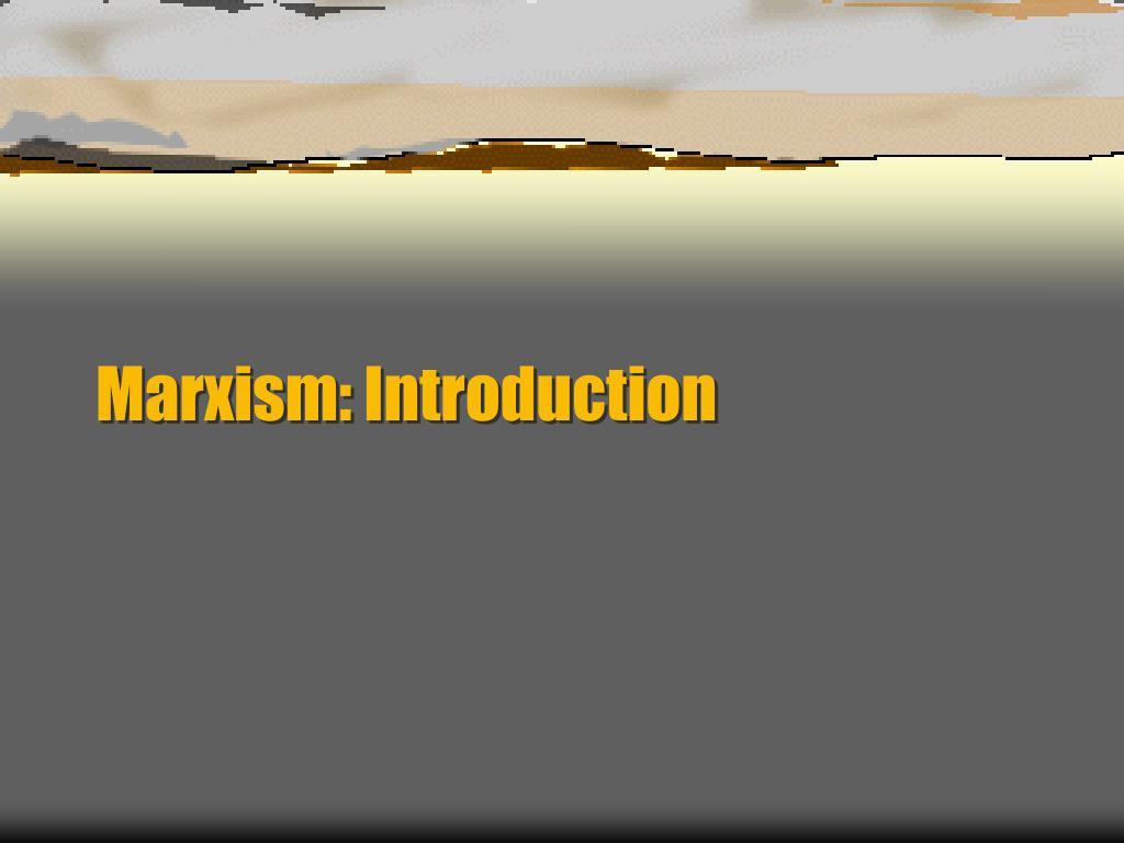 marxism introduction l.