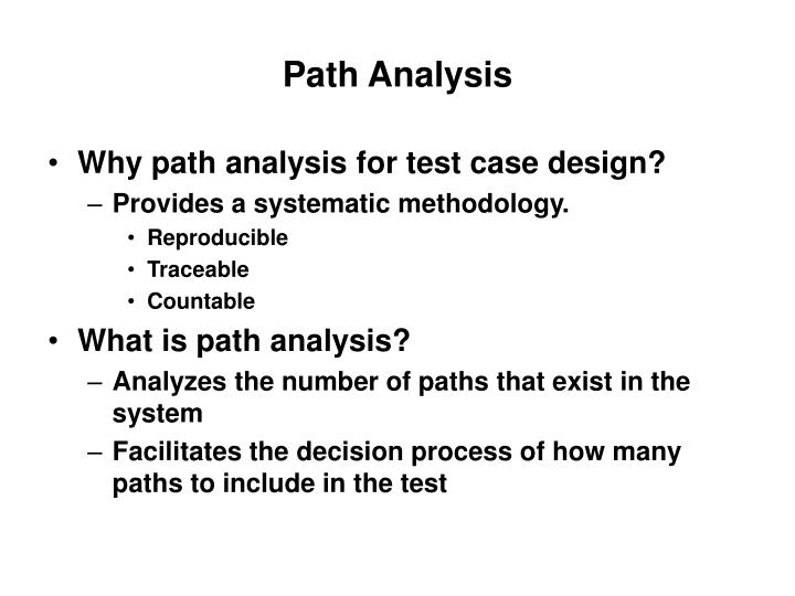 path analysis n.