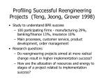profiling successful reengineering projects teng jeong grover 1998