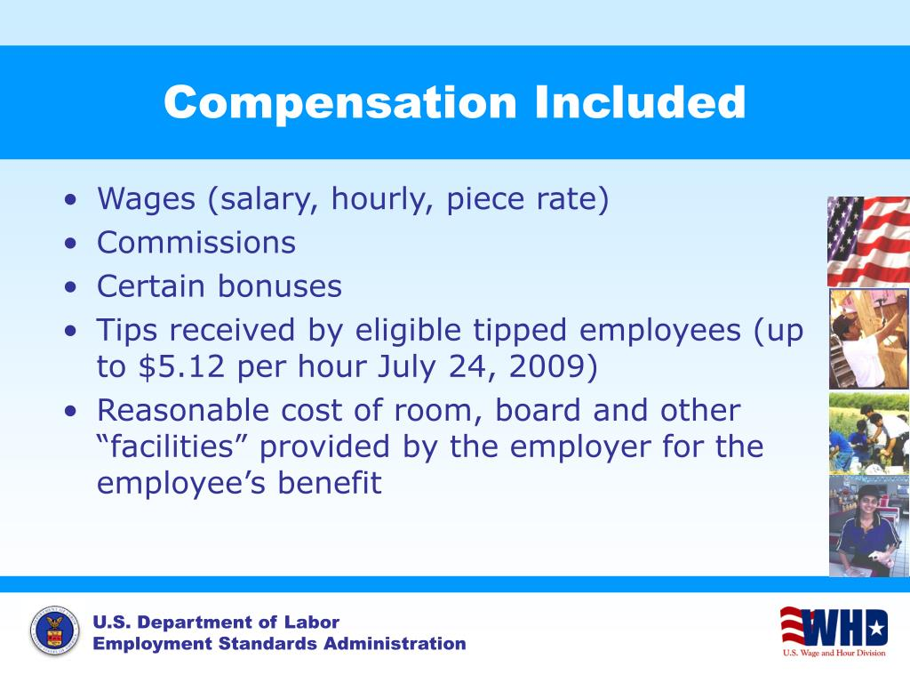 Compensation Included