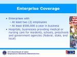 enterprise coverage