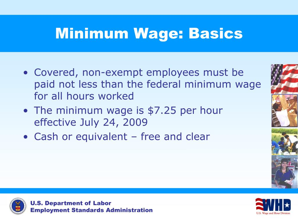 Minimum Wage: Basics