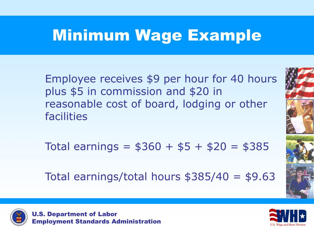 Minimum Wage Example