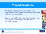 tipped employee
