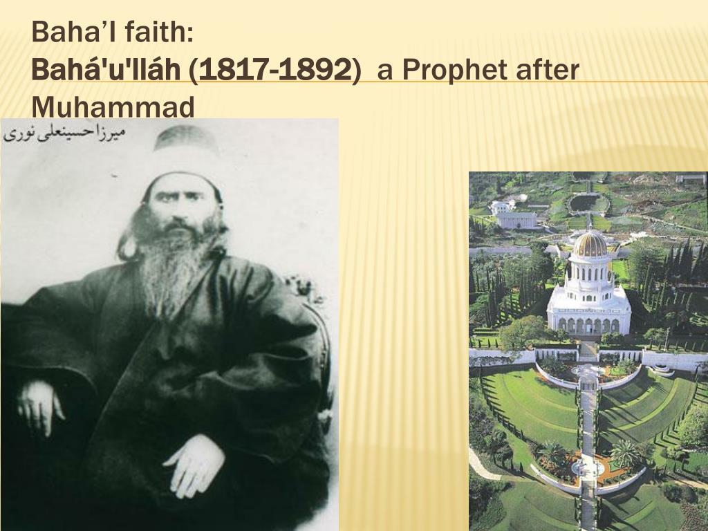Baha'I faith: