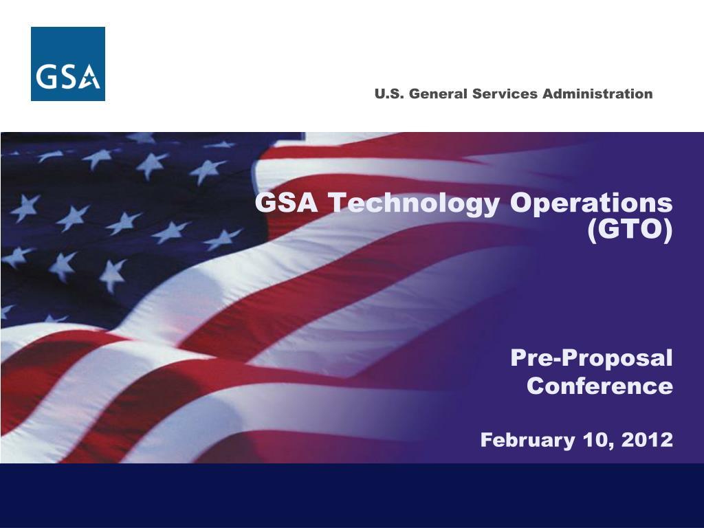 gsa technology operations gto l.