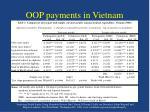 oop payments in vietnam