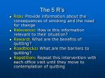 the 5 r s