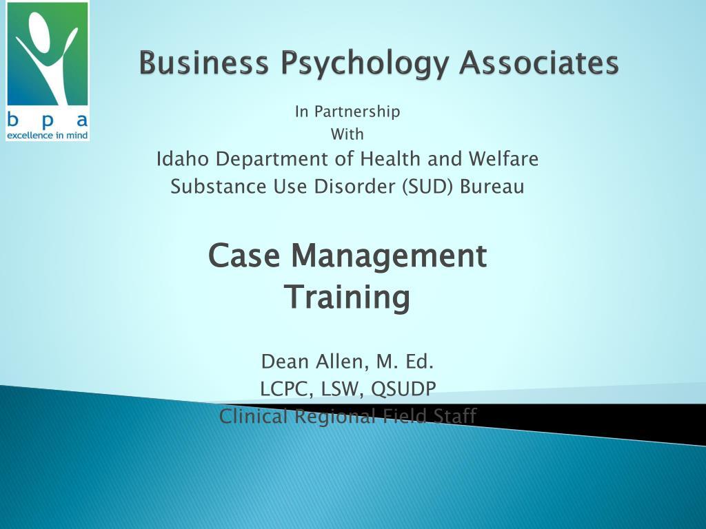 business psychology associates l.