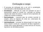 civiliza o e corpo
