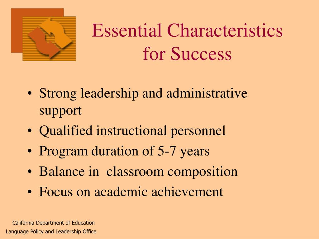 Essential Characteristics for Success