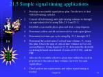 21 5 simple signal timing applications