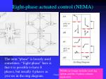 eight phase actuated control nema