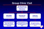 group clinic visit