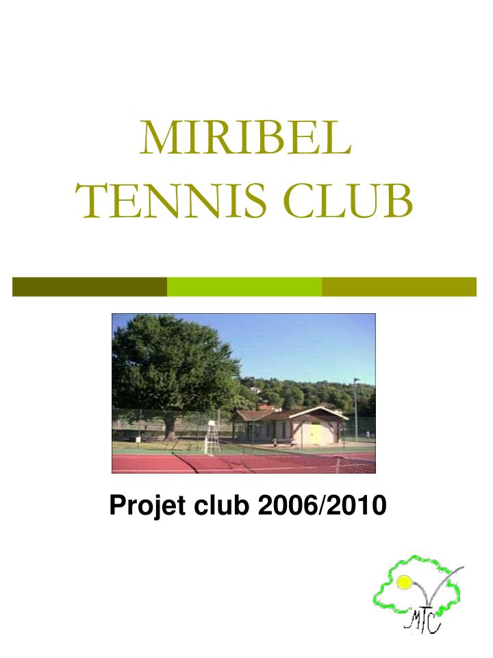 miribel tennis club n.