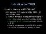 indication de l ohb1