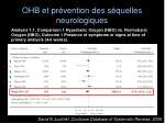 ohb et pr vention des s quelles neurologiques1