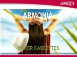 armonia water cassettes