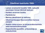 edellinen taantuma 1989