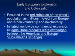 early european exploration and colonization1
