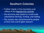 southern colonies1