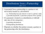 distributions from a partnership slide 1 of 4