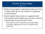 family partnerships slide 3 of 3