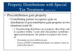 property distributions with special tax treatment slide 4 of 4