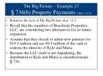 the big picture example 27 736 b property payments slide 1 of 4