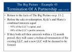 the big picture example 45 termination of a partnership slide 1 of 2