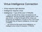 virtue intelligence connection