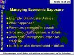 managing economic exposure8