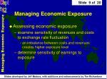 managing economic exposure9