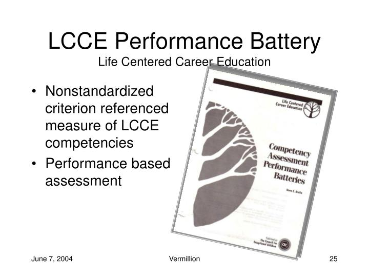 LCCE Performance Battery