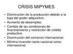 crisis mipymes