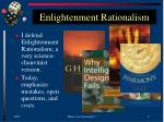 enlightenment rationalism