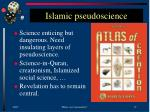 islamic pseudoscience