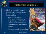 problems example 1