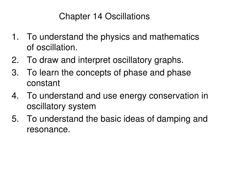 chapter 14 oscillations n.