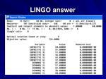 lingo answer87