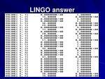 lingo answer89