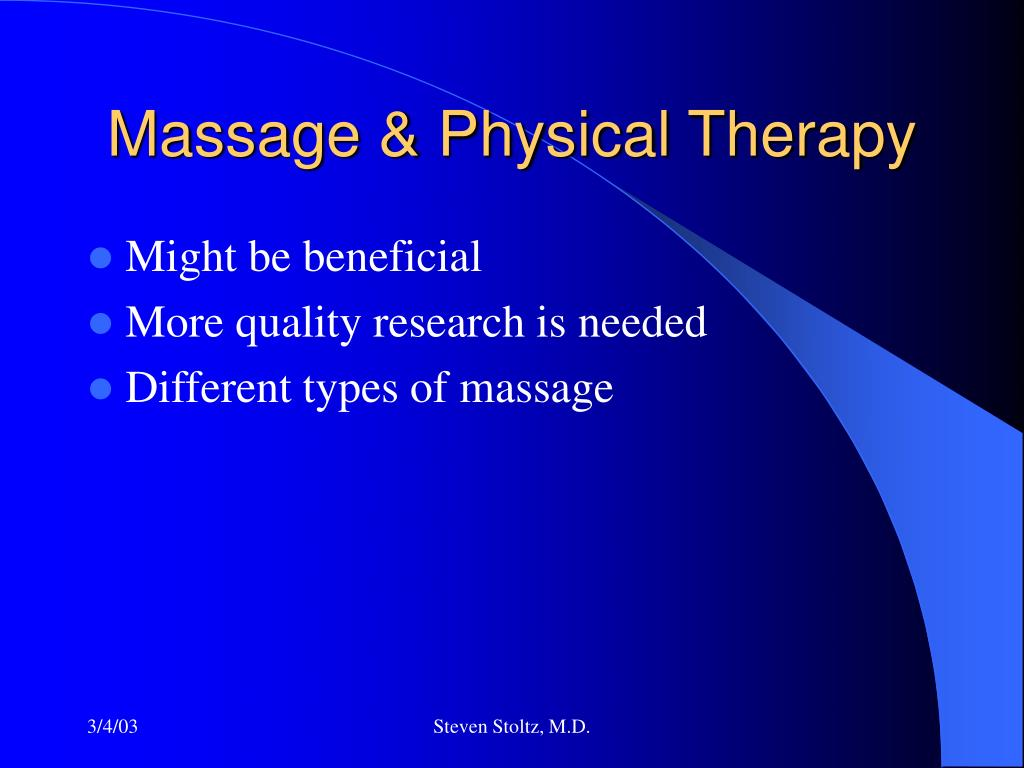 Massage & Physical Therapy