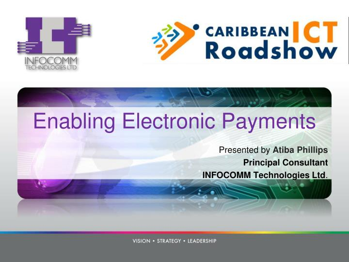 enabling electronic payments n.