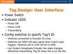 tag design user interface