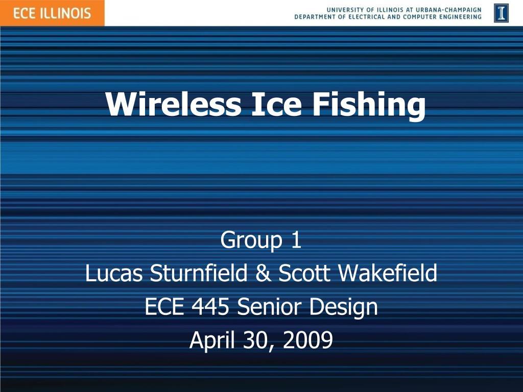 wireless ice fishing l.