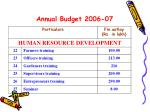 annual budget 2006 076